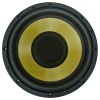 12 inch yellow cone car woofer