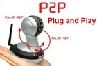 1 megapixel wireless IP camera with free P2P