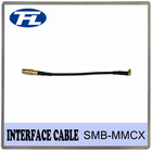 Interface cable SMB female to MMCX male with RG174 cable