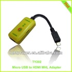 Mobile Adapter with HDMI,Compatible with HTC Flyer tablet,LG Nitro HD,Samsung Galaxy S2,multi mobile adapter