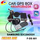 CAR GPS BOX remote control touch panel