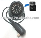 CCTV Camera with Video and Audio Recording Function Camera and DVR 2 in 1 System