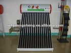 Rooftop Unpressurized Solar Water Heater with Vacuum Tubes