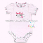Hot sell 100% cotton embroideried designer baby clothes & baby wear
