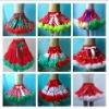 Christmas design full baby girl pettiskirts