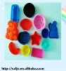 Promotional fashion silicone cup cake mould