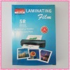 A4 mobile thermal laminating punch film for photo