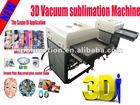 High Speed 3d sublimation vacuum machine