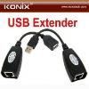 150 Feet RJ45 Lan Ethernet Extender Repeater USB Extender Single LAN cable USB Cat5 Cat5e Cat6