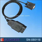 OBDII CABLE, diagnostic tools, car diagnostic cable