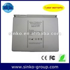 6-cells 10.8V 60Wh laptop battery and adapter for apple A1175 macbook Pro magsafe 15''