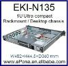 1U Ultra compact Rackmount / Desktop chassis