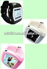 Classic GSM mobile phone watch with bluetooth