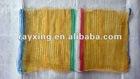 40*60CM HOT RED SALE Hand Plastic Mesh bag/ leno mesh bag/pp mesh bag/knitted mesh bag/ rice suggar fruit onion
