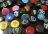 evaclog shoes button ( colour and printing )