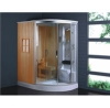 Wooden Sauna house/steam sauna combined shower room