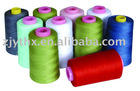 100% spun polyester sewing thread 20s2