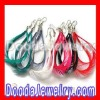 Natural Mix Color Handmade Feather Earrings With Alloy Fishhook for Sale FE5055