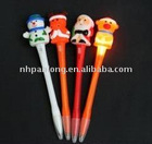 cute christmas style promotional LED ballpen