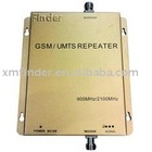 Mobile GSM & 3G Signal Booster / Repeater for 900MHz & 2100MHz Dual Bands Celluar Signal