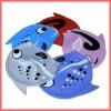 animal silicone swim cap