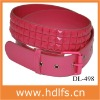 Fashion Pinky Glitter Belt