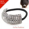Fashion Spakle Rhinestone Stretch Ponytail Holder