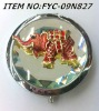 wholesale Elephant shape craft mirror pieces with small orders 50pcs
