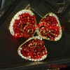 new red costume jewelry