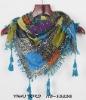 2012 Fashion printed cotton hijab scarf