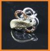 Flower latest design diamond ring