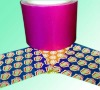 Chocolate wrapping foil paper