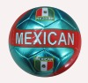 machine-stitched soccer ball