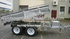 Dependable Heavy Duty Utility Tandem/Dual-Axle Tipper Trailers (Mesh Cage Attachable)