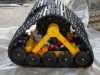 rubber track system for tractor/truck
