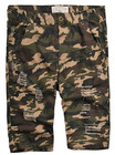 army washed mens casual shorts
