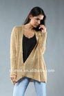 2012 Spring Knitted Sequin Cardigan Cover Up