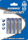 R03 Super heavy duty battery AAA size