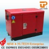 CE approved--10KW Portable silent diesel generator