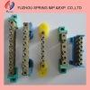 Durable screw terminal block