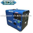 60hz air cooled 5.5kw silent diesel generator