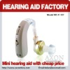 AXON HOT-SELLING easy use BTE hearing aid F-137