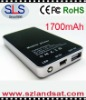 1700mAH Phone Charger for iphone, ipad,ipod,blackberry,PSP and etc., SLS-P11