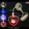 color changing led heart pendant