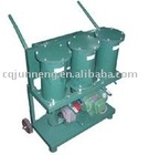 JL portable-type oil filtration unit/movable oil purifier