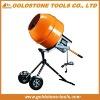 375W 0.5HP vertical pan concrete mixer portable