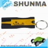 SMT2604,check the tire tread depth, ABS material, with key-chain, Tyre depth measurer
