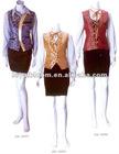 Ladies' waistcoat uniforms