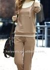 2012 100% cotton slim women sportswear