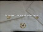 bath linen set/ cotton towel set/ hotel towels